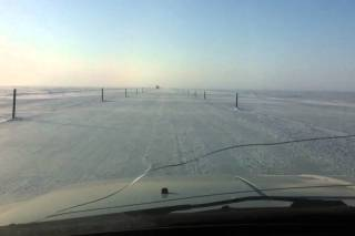 Arctic Ocean Ice Road