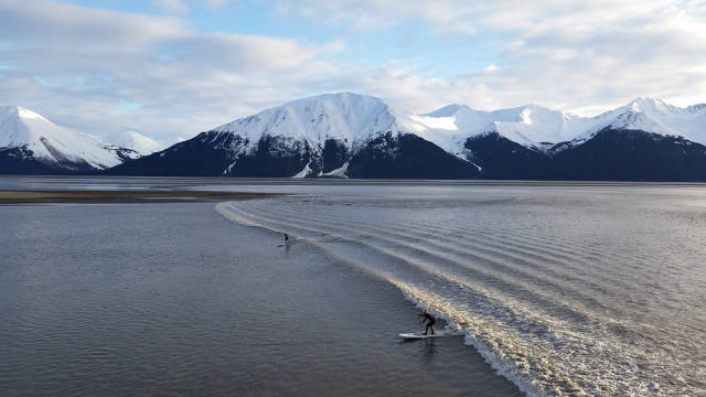 Bore Tide in Alaska - Best Time