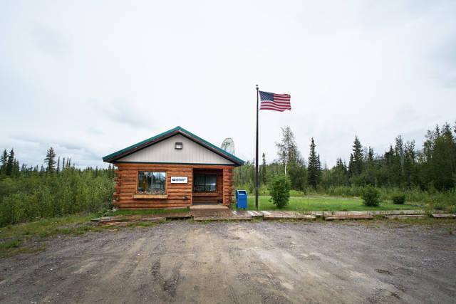 A remote Alaskan Native village near the Arctic Circle