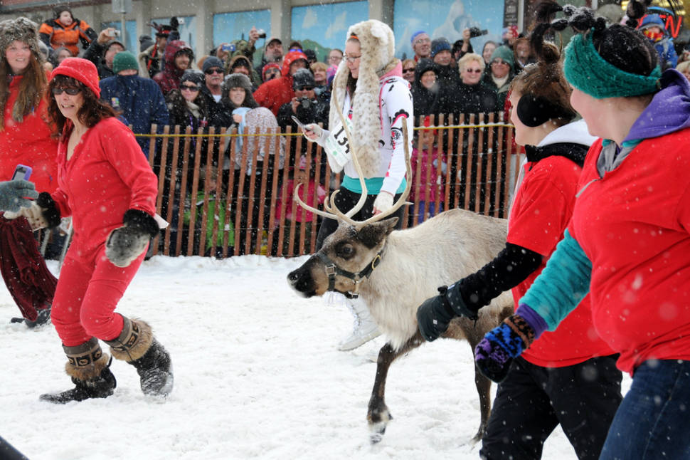 Best time for Fur Rondy in Alaska