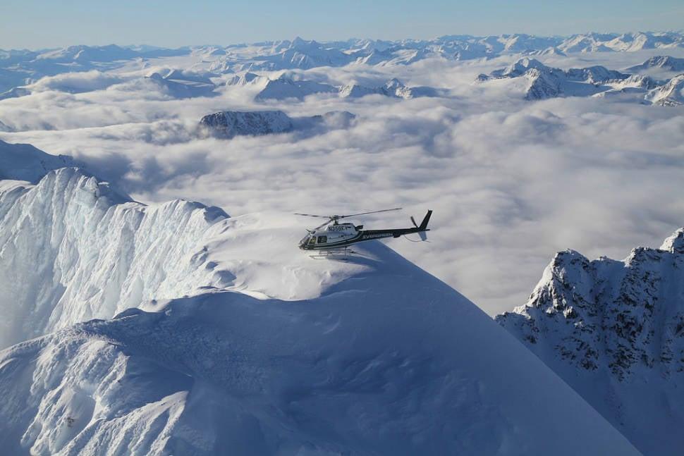 Best time to see Heliskiing in Alaska