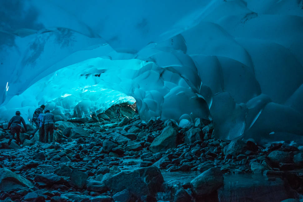 Ice Caves in Alaska - Best Time