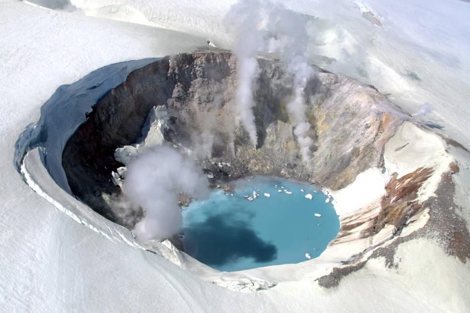 Makushin Volcano in Alaska - Best Time