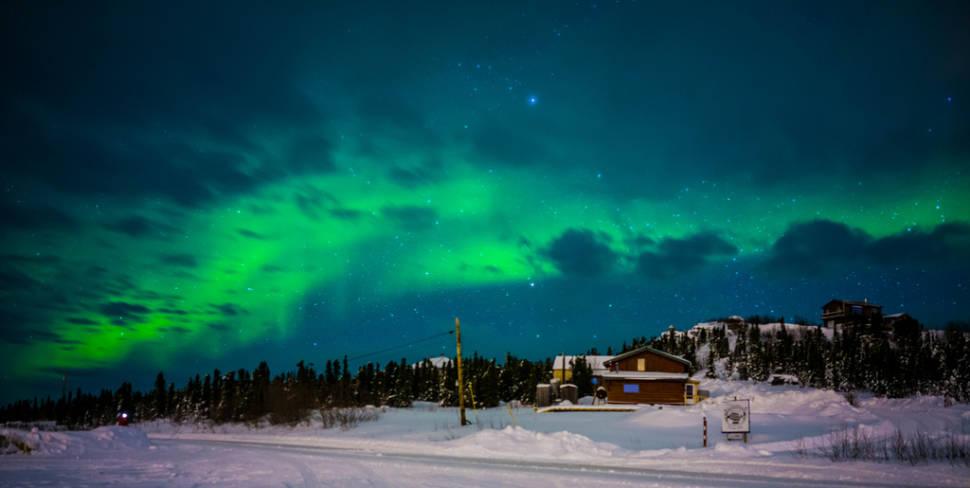 Aurora at Fairbanks