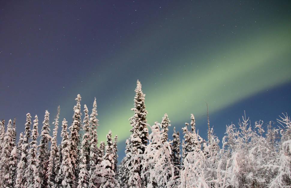 Aurora Hunting in Fairbanks, Alaska