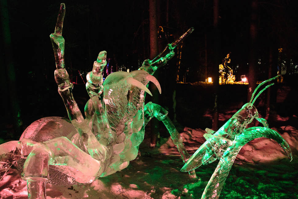 Wo​rld Ice Art Championships in Alaska - Best Season