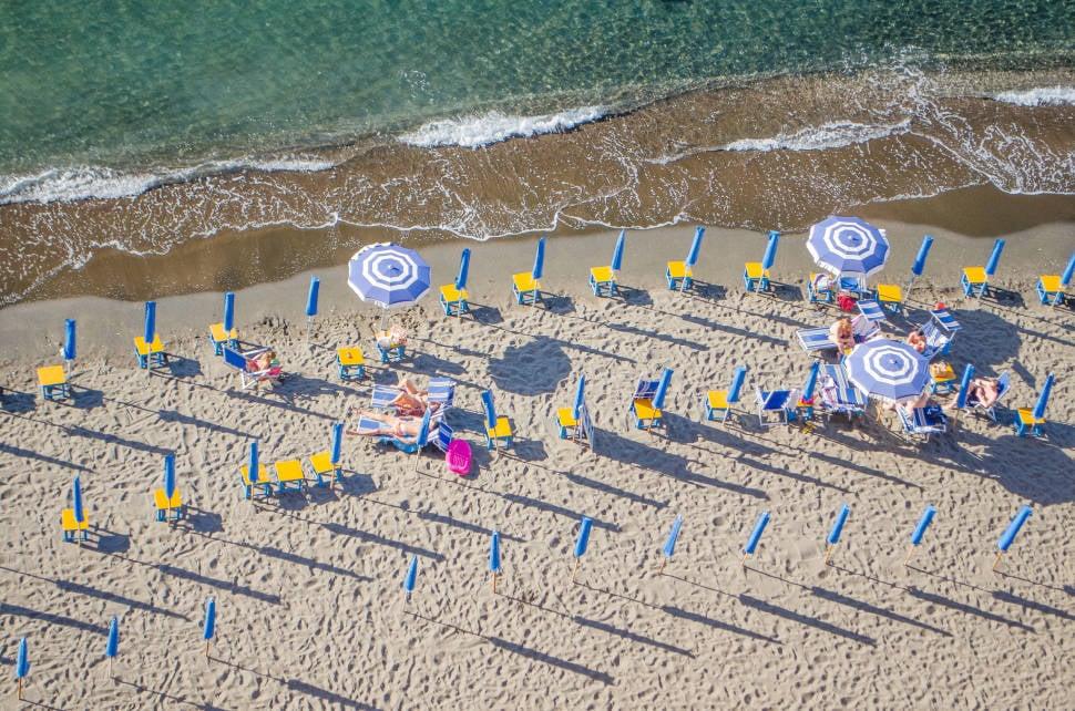 Beach Season on the Amalfi Coast in Amalfi Coast - Best Time