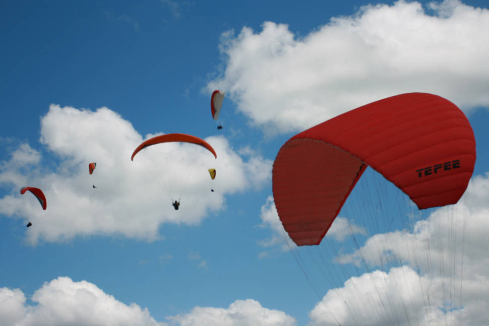Paragliding in Argentina - Best Season