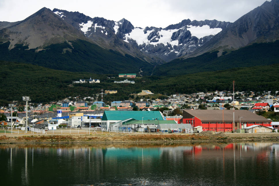 Tierra del Fuego. The city of Ushuaia.