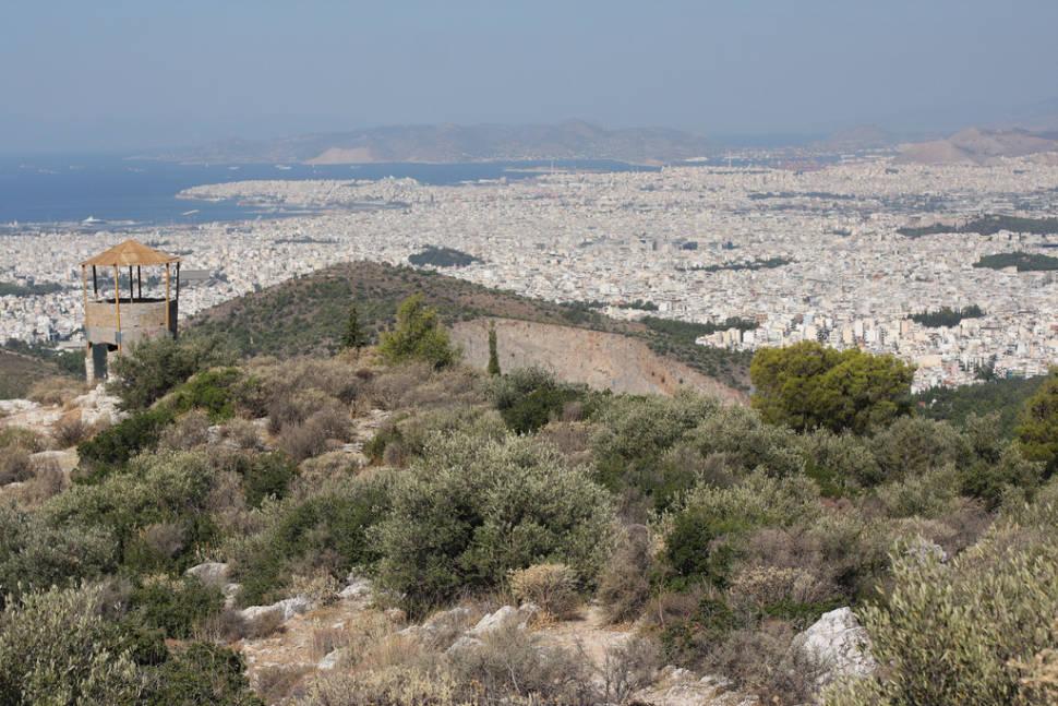 Hymettus, Athens, Greece