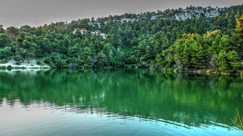 Reflection, Lake Beletsi, Parnitha, Greece