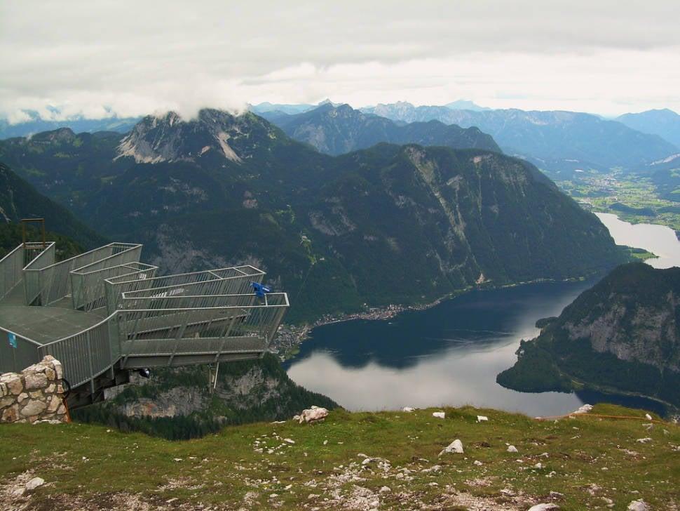 5 Fingers in Dachstein Salzkammergut in Austria - Best Season