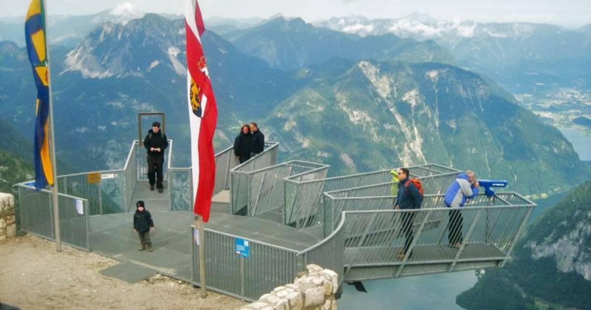 5 Fingers in Dachstein Salzkammergut in Austria - Best Time