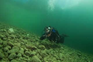 Gosau Lake Diving