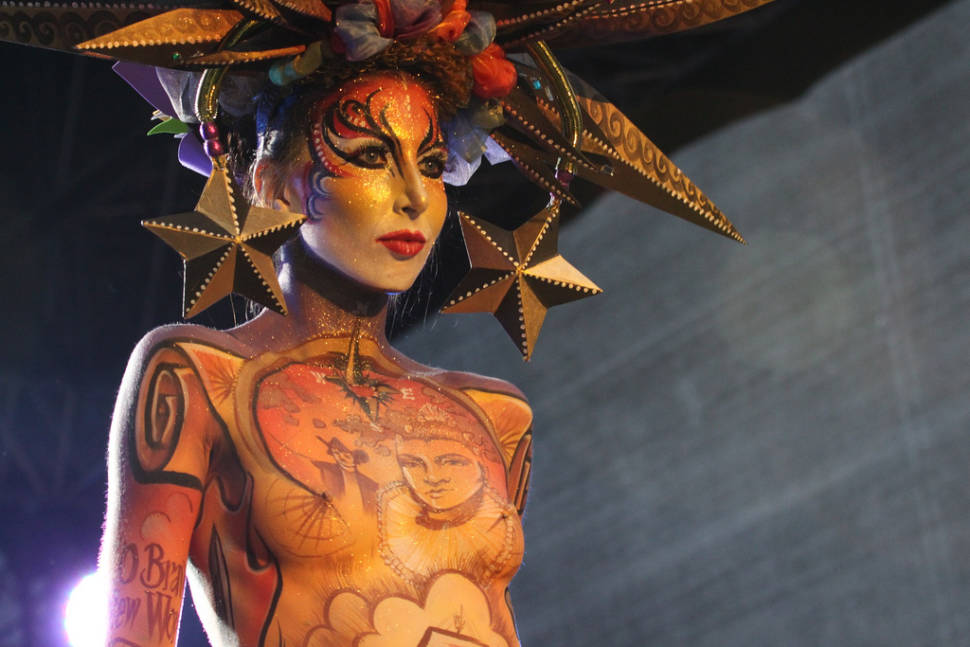 World Bodypainting Festival 2018 in Austria - Dates & Map