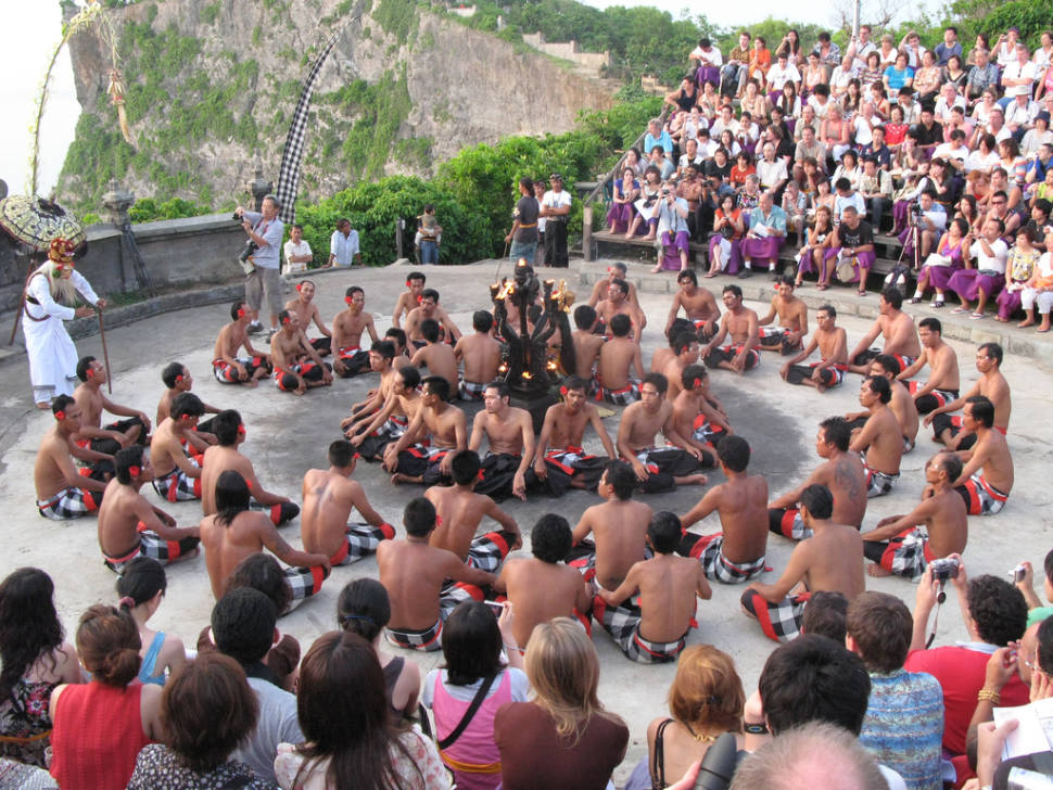 Best time to see Kecak or Monkey Dance in Bali