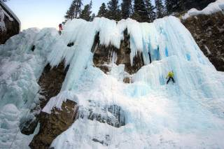 Johnston Canyon Ice Walk & Climb