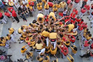 Castells or Human Towers