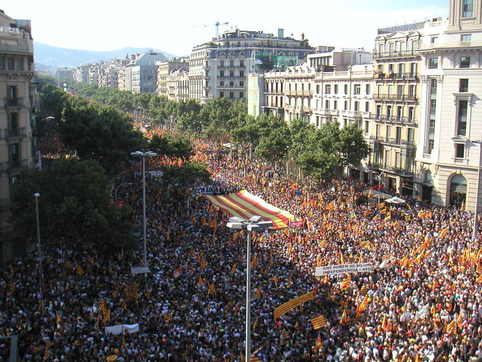 Diada Nacional de Catalunya in Barcelona - Best Season