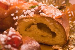 Roscón de Reyes or Kings Cake