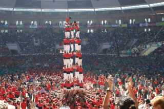 Tarragona Human Towers Competition