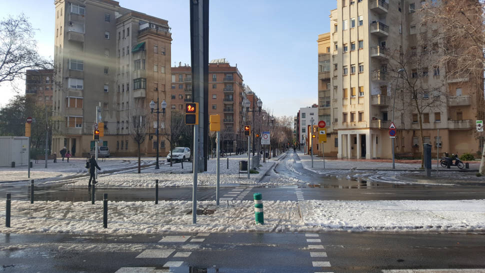 Best time for Winter in Barcelona