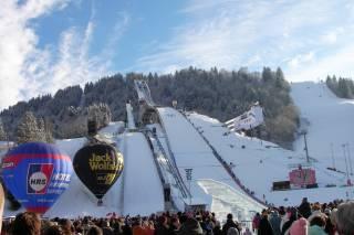 New Year's Ski Jumping (Neujahrsskispringen)