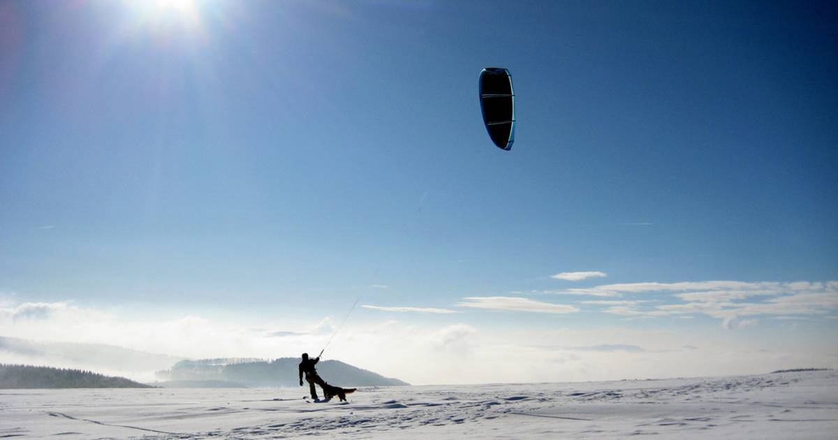 Snowkiting in Bavaria - Best Time