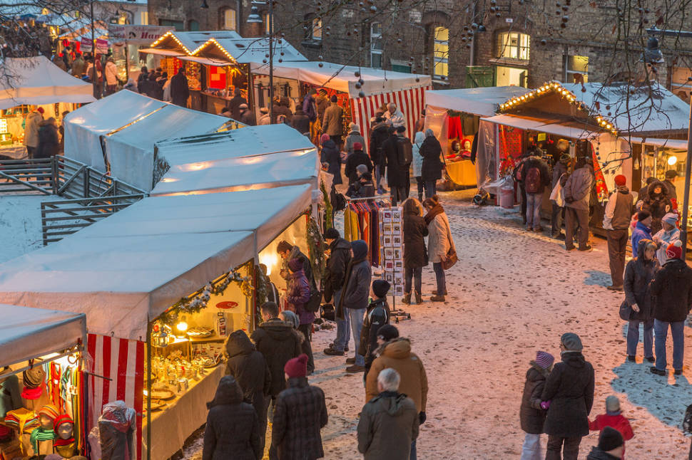 Christmas Market at Domäne Dahlem