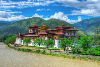 Fertility Blessing in Chimi Lhakhang Monastery