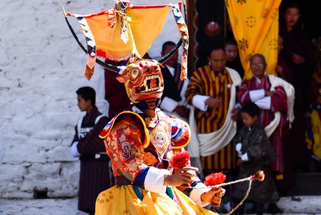 Paro Tshechu in Bhutan - Best Season
