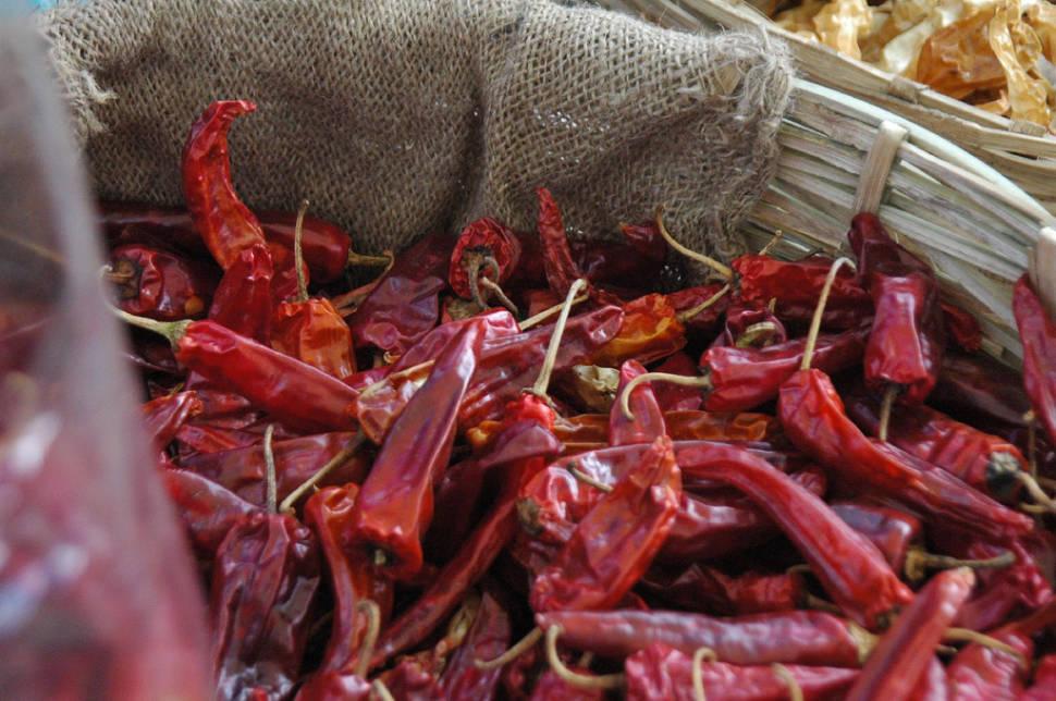 Red Chilli Peppers Season in Bhutan - Best Season