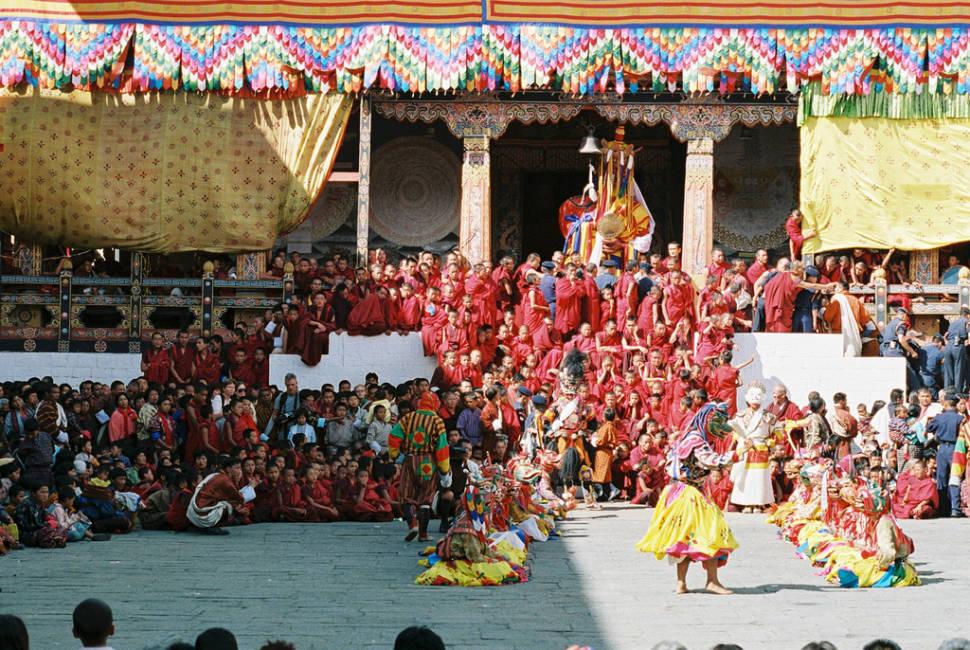 Thimphu Tshechu in Bhutan - Best Season
