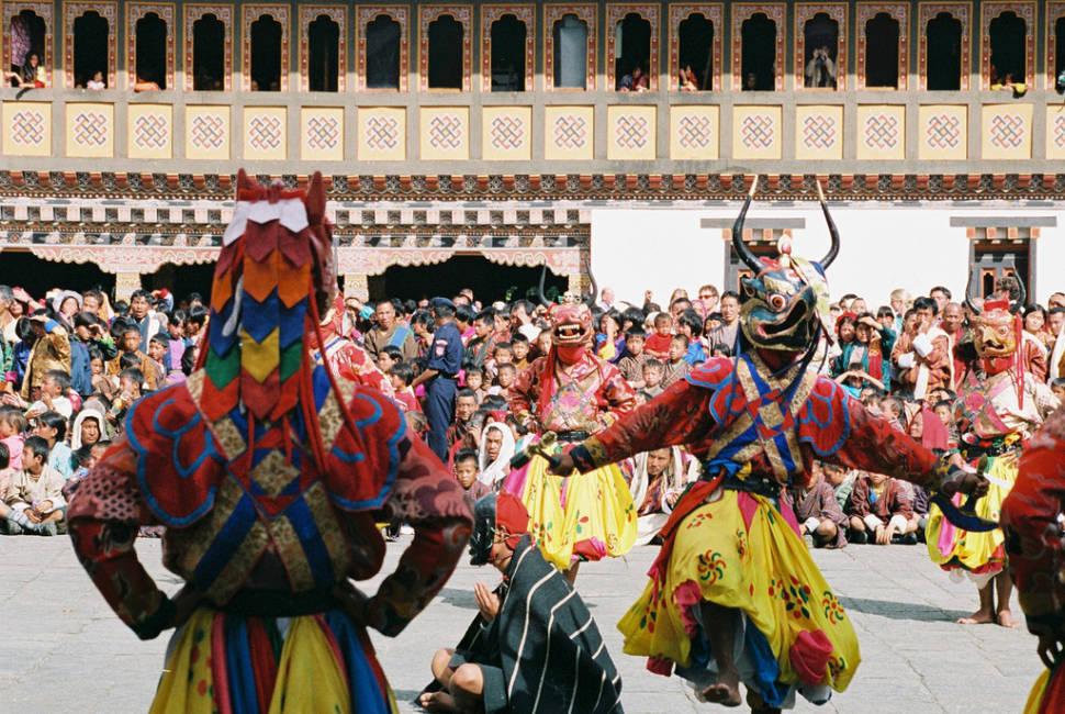 Thimphu Tshechu in Bhutan - Best Time
