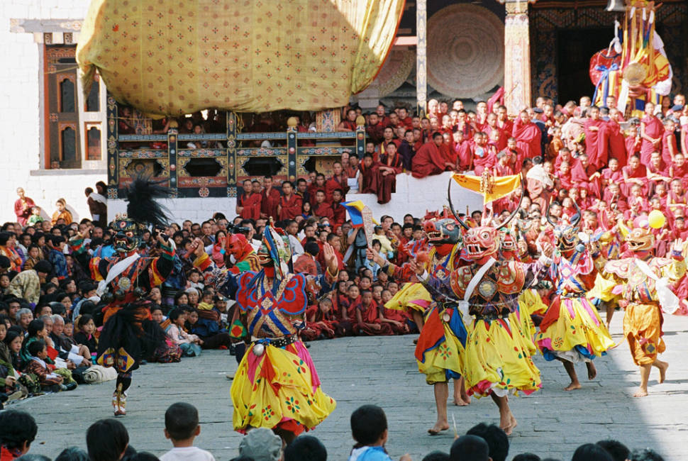 Best time to see Thimphu Tshechu in Bhutan