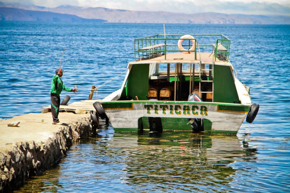 Titicaca boat