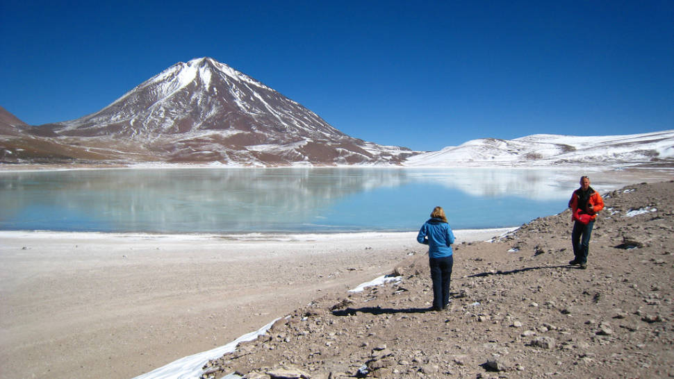 Best time for Laguna Verde in Bolivia