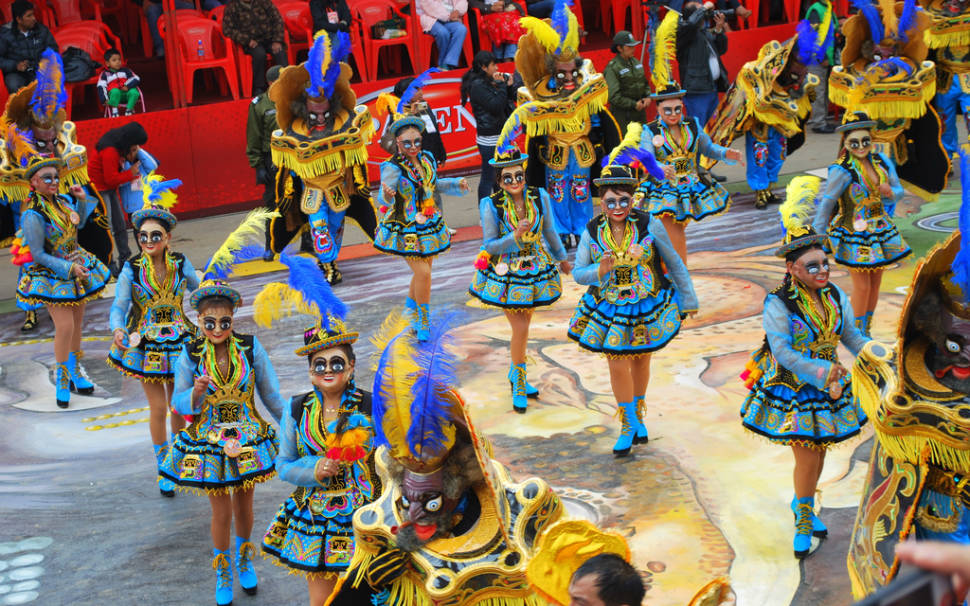 Best time to see Oruro Carnaval in Bolivia