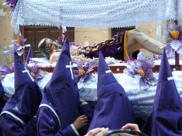 Good Friday parade, La Paz