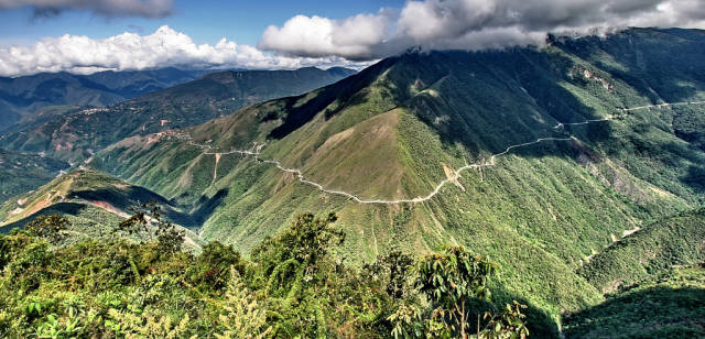 Best time for The Death Road (Camino a los Yungas)