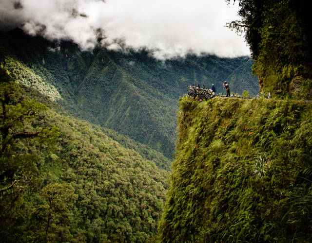 Best time for The Death Road (Camino a los Yungas) in Bolivia