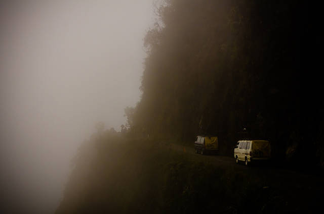 Best time to see The Death Road (Camino a los Yungas) in Bolivia