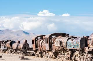 Train Cemetery
