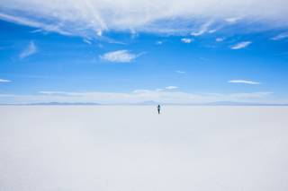 Walk the Salar de Uyuni Salt Flats
