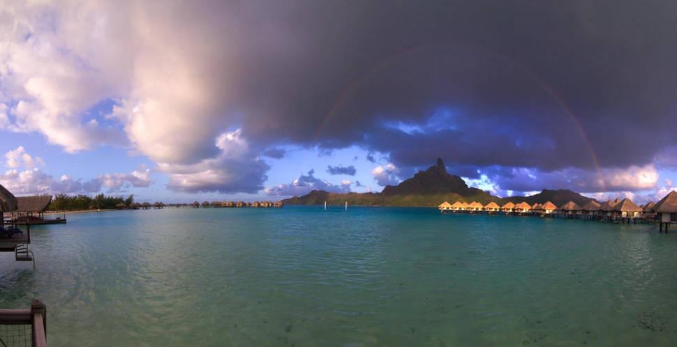 Summer: Wet Season in Bora Bora - Best Time