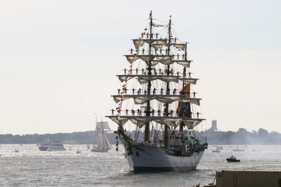 Best time to see Boston Harborfest in Boston