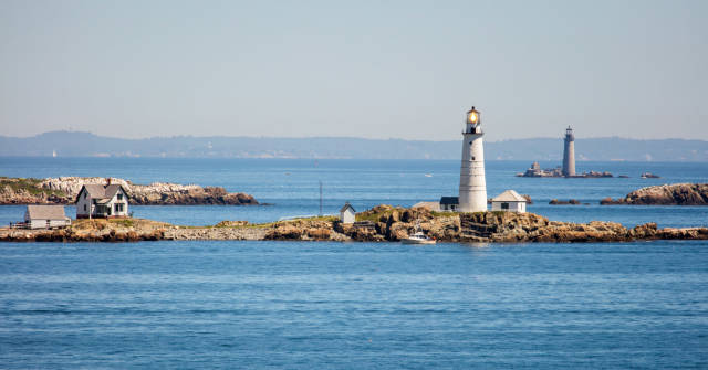 Boston and Graves Lighthouses