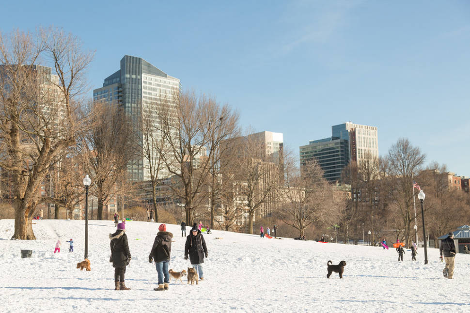 Winter in Boston - Best Time