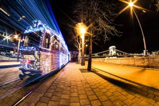 Christmas Trams