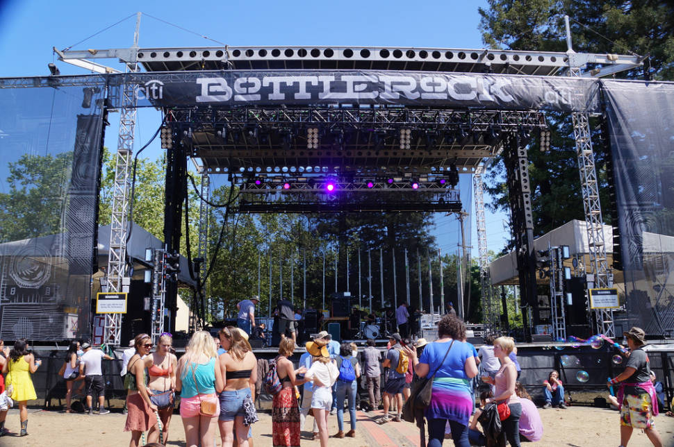 Best time for BottleRock Napa Valley in California